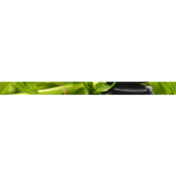 Фриз Relax HD зеленый 40х3 см