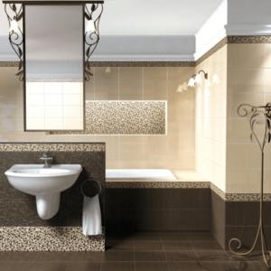 Глория интерьер ванной комнаты