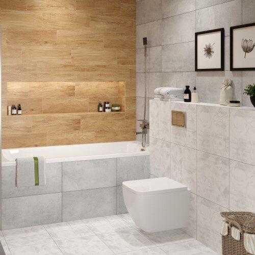 Ванная_Gesso + Home Wood