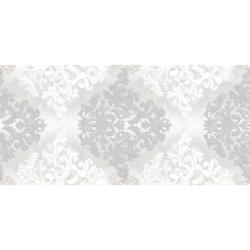 Декор Бристоль светло-серый 20х50 см