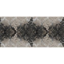 Декор Бристоль черный 20х50 см