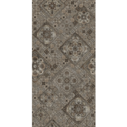 Декор Измир коричневый 25х50 см