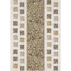 Декор Квадро 25х35 см (белый)