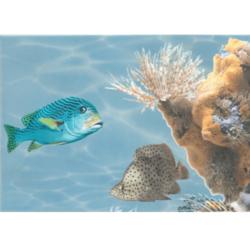 Декор Лазурь морской мир 5
