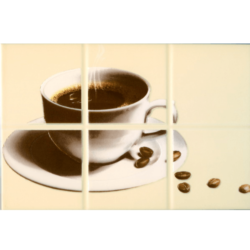 Декор Руна Кофе 1 бежевый 20х30 см