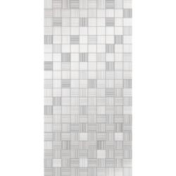 Декор день пиксел белый 25х50 см
