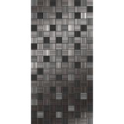 Декор ночь пиксел черный 25х50 см