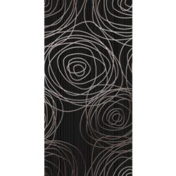 Декор ночь черный 25х50 см