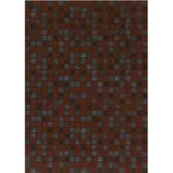 Квадро. Глянцевая плитка для стен 25х35 см (бордовый)