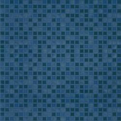 Квадро. Матовая плитка для пола 42х42 см (синий)