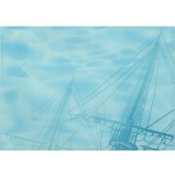 Лазурь панно корабль 1