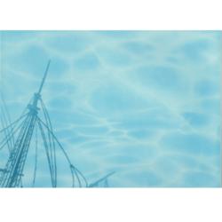 Лазурь панно корабль 2