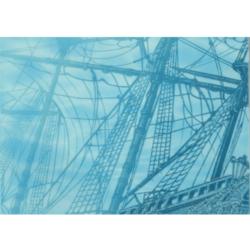 Лазурь панно корабль 4