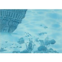Лазурь панно корабль 8