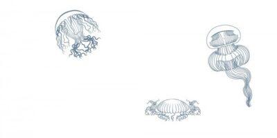 Марис медузы декор м2
