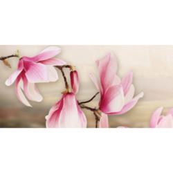 Панно Мираж 1 серо-розовый 20х50 см
