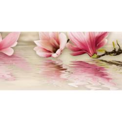 Панно Мираж 4 серо-розовый 20х50 см