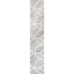 Фриз Камелот серый 9.5х60 см