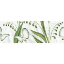 Фриз Нарцисс лето 20х7 см (салатовый)