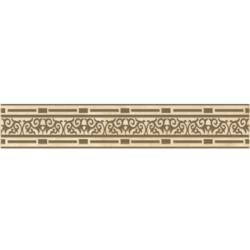 Фриз Рим желтый 9.5х60 см