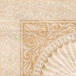 Декор 1 Агат палевый 42х42 см
