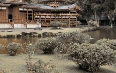 Панно Bamboo пагода 4