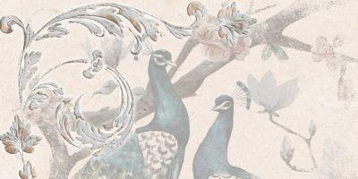 Панно Павана птицы