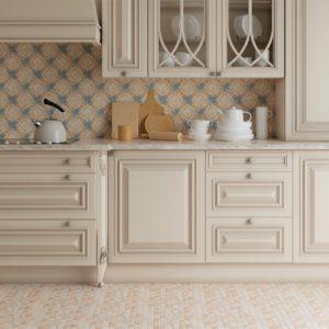 Tivoli кухня пол мозаика+декор 240d04