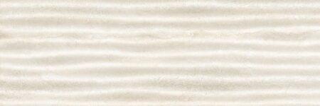 Травертин кремовый декор 3 волны