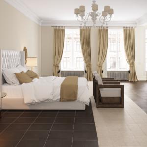Linen спальня