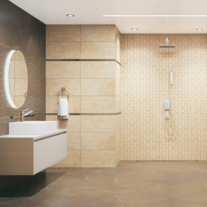 Bathroom_Crema Marfil MR