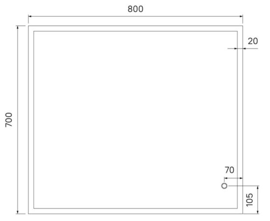 Brick зеркало iDDiS (4)